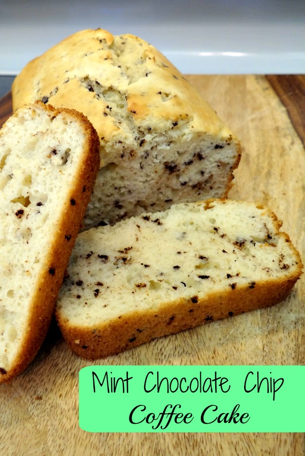Mint Chocolate Chip Coffee Cake Recipe! #MullerMoment #Cbias #Ad