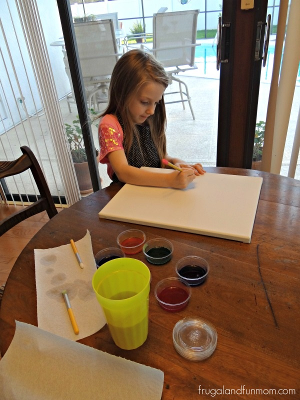 Painting with Glob Colors