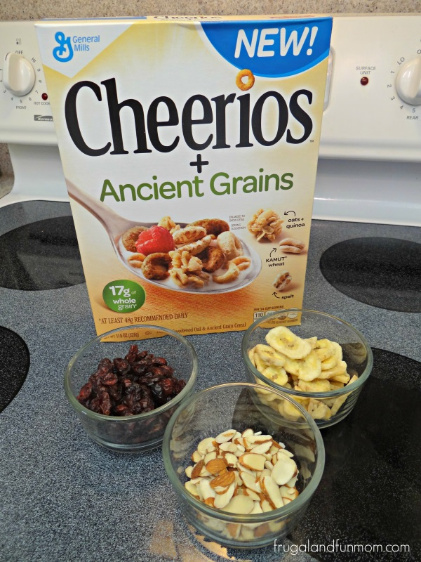 Cheerios Ancient Grains Trail Mix with Dried Cranberries
