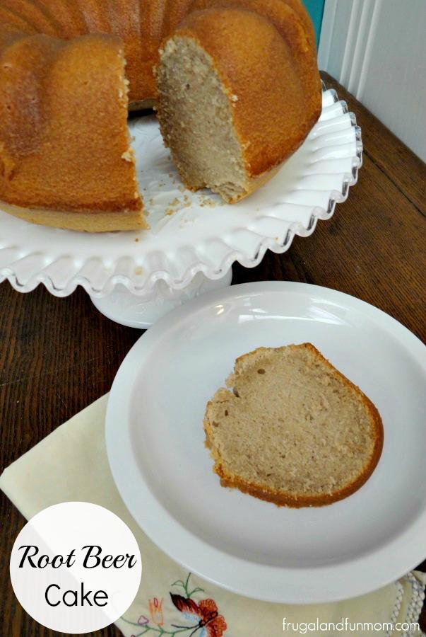 Root Beer Cake Bundt Recipe
