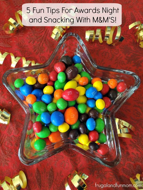 Snacking like a Star with MandMs
