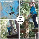 Zip Lining at Zoom Air in Orlando!