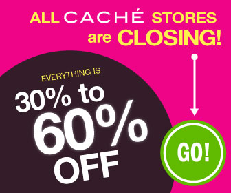 Cache Stores Closing Discounts