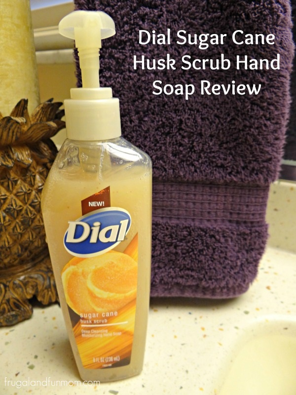 Dial Sugar Cane Husk Scrub Hand Soap Review