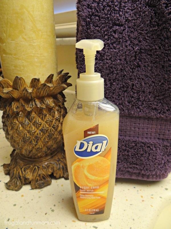 Dial Sugar Cane Husk Scrub Hand Soap