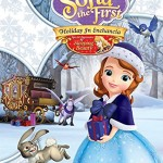 Sofia the First Holiday In Enchancia DVD With Bonus Lighted Ornament!