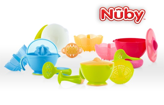 Nuby's Garden Fresh Steam and Mash Bowl