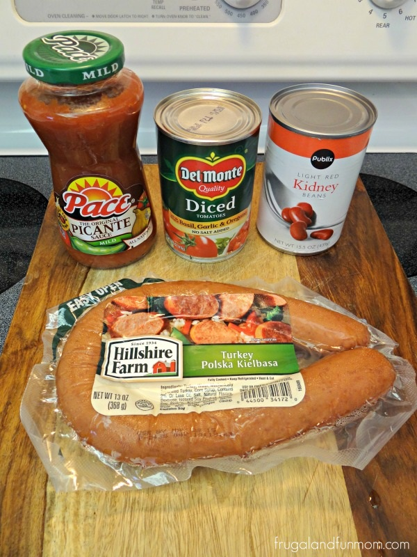 Sausage Chili Ingredients