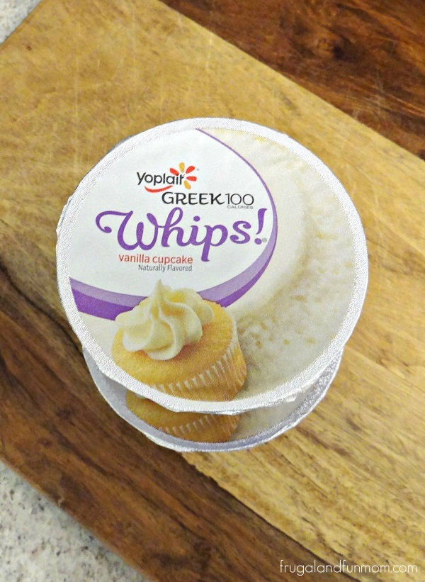 Yoplait Greek 100 Whips Vanilla Cupcake Yogurt