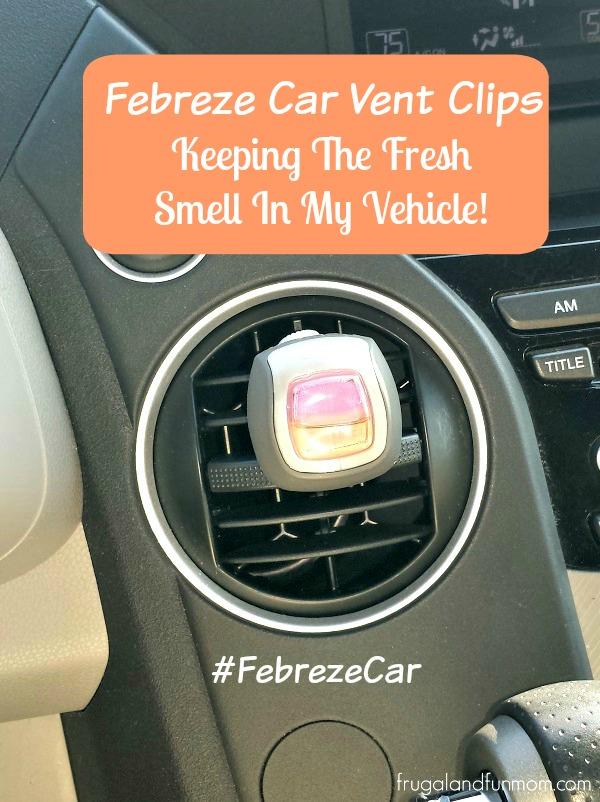Febreze Car Vent Clips Fresh Smell