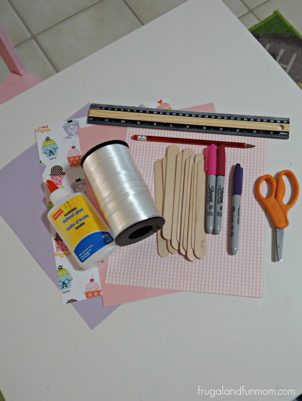 Mother's Day Craft Frame Supplies