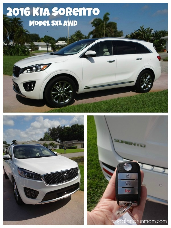 Test drive of the 2016 Kia Sorento