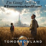 Heading to Los Angeles for the Disney TOMORROWLAND Event! #TomorrowlandEvent
