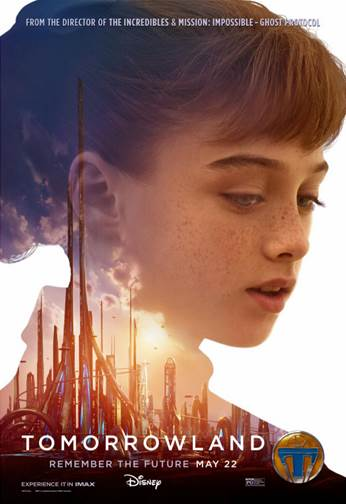 Tomorrowland Vision of Tomorrow poster