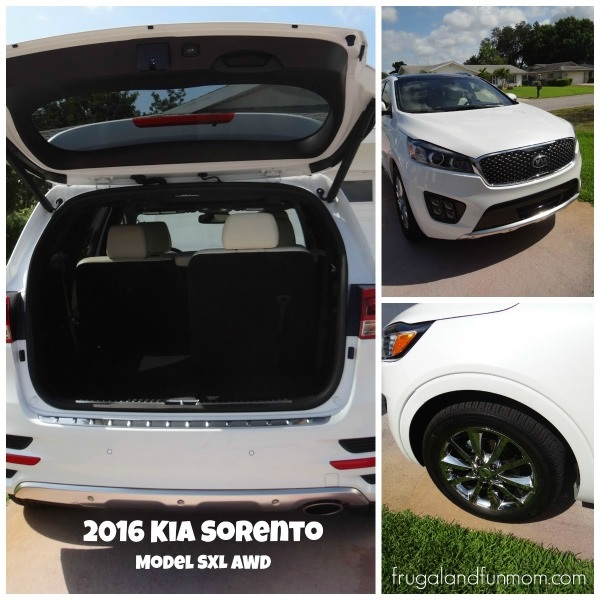 Views of Kia Sorento 2016