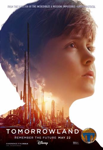 Vision of Tomorrow Tomorrowland poster