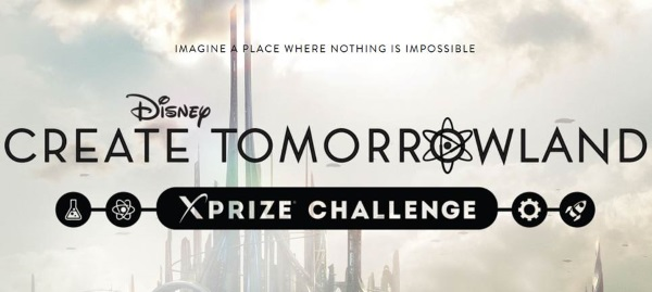 Xprize Disney Tomorrowland Contest