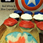 Red White and Blue Cupcakes!