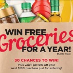 Chance To WIN Free Groceries For A Year From Winn Dixie!  Plus $50 Gift Card Giveaway!