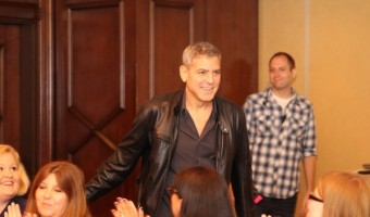 EXCLUSIVE George Clooney Interview With His Thoughts On TOMORROWLAND! #TomorrowlandEvent