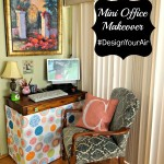 Mini Office Makeover With Homegoods! Plus Renuzit Pearl Scents Giveaway! #DesignYourAir