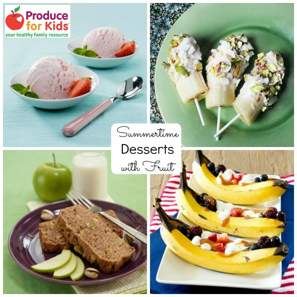 Summer Fruit Desserts from Produce for Kids
