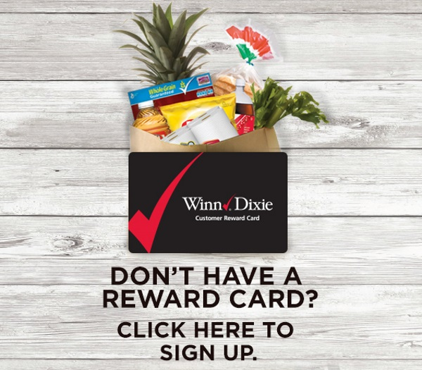 Winn Dixie Reward Card
