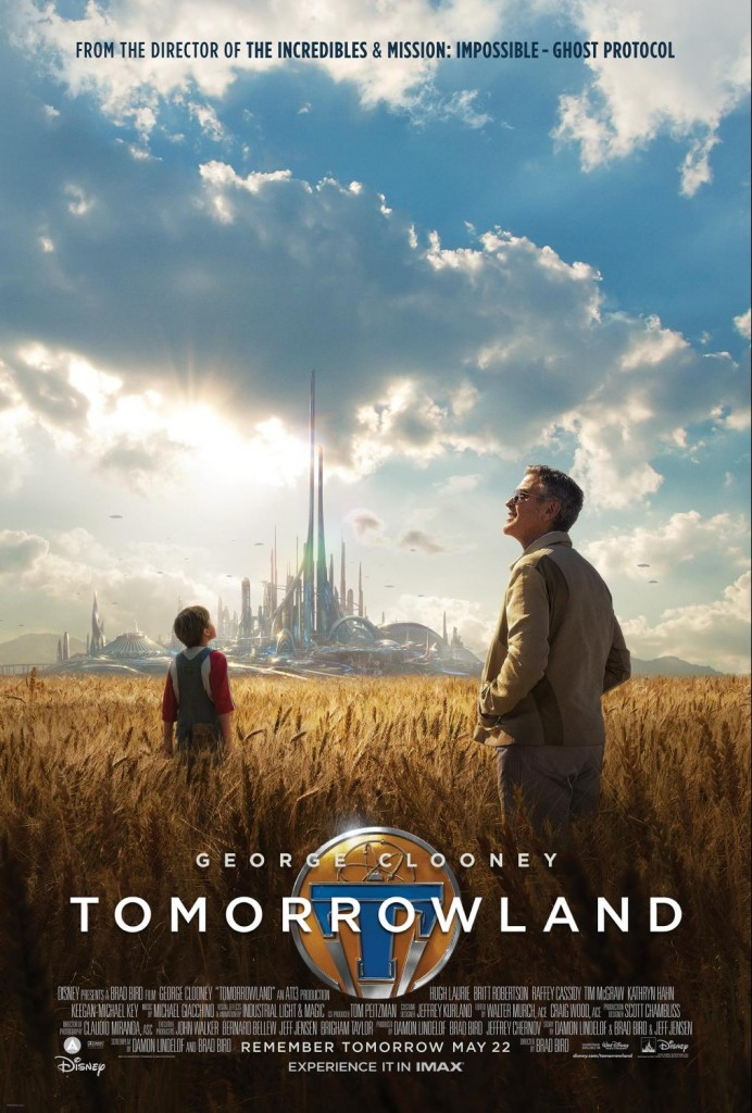 disney tomorrowland poster