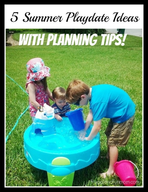5 Summer Playdate Ideas