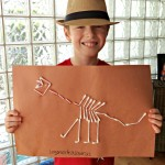 Dinosaur Bones Craft Inspired by JURASSIC WORLD!