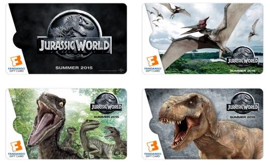 Jurassic World Gift Cards Fandango