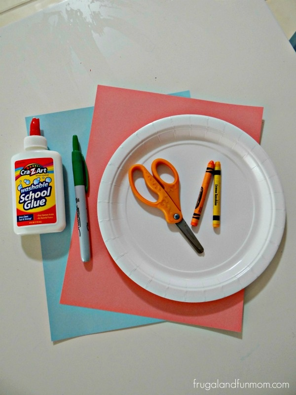 Supplies for You are my sunshine Father's Day Craft