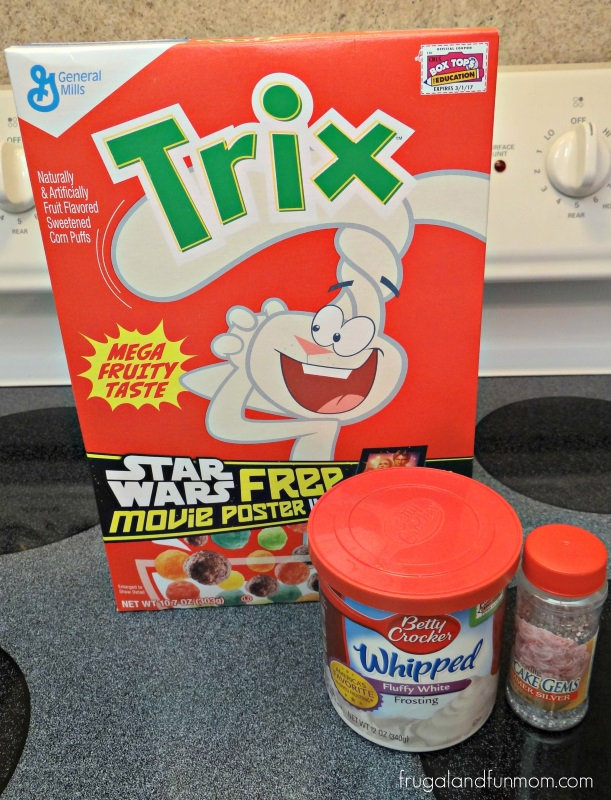 Trix Cupcakes
