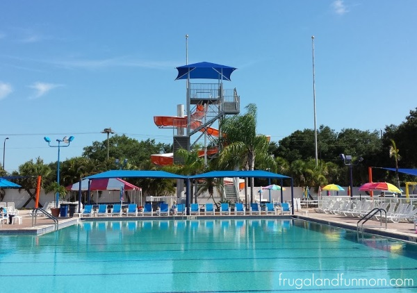 Water Side and Pool at Sun N Fun Sarasota