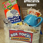 Box Tops for Education Teacher Appreciation Basket!