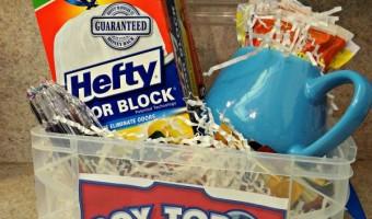 Box Tops for Education Teacher Appreciation Basket!