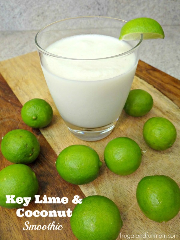 Key Lime and Coconut Smoothie