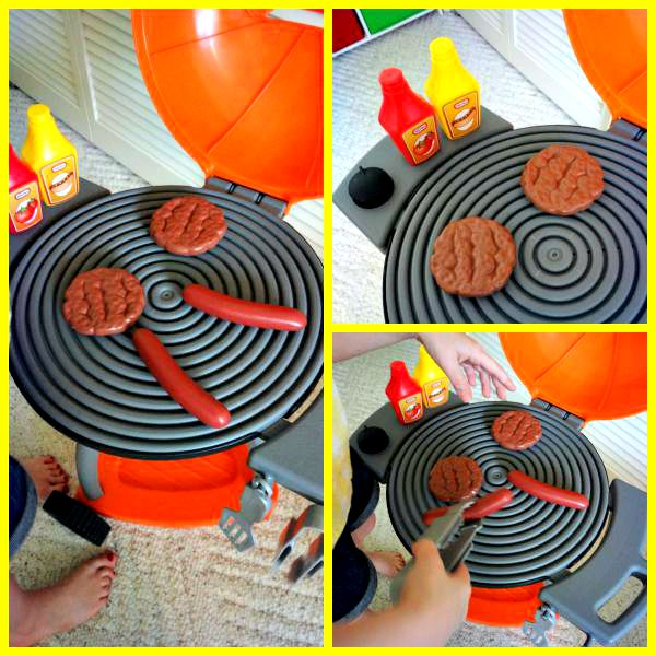 Little Tikes Sizzle and Serve Grill Review Shots