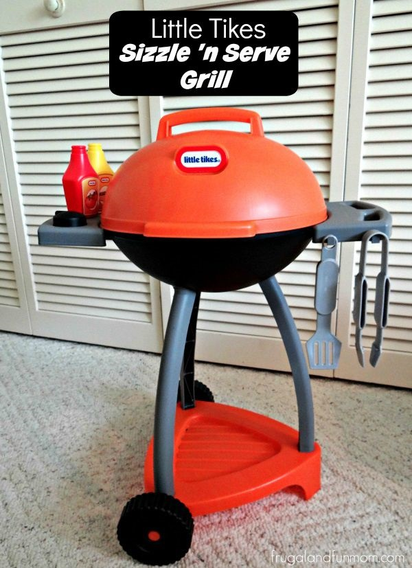 Little Tikes Sizzle and Serve Grill Review