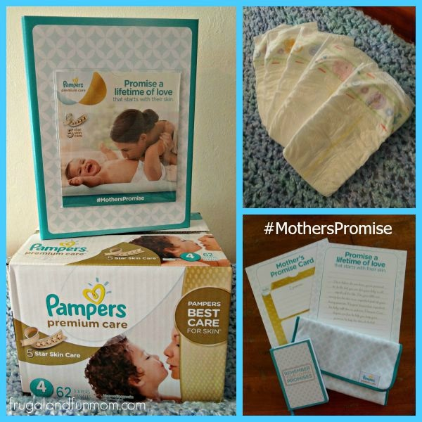 Pampers Premium Care Diapers Mothers Promise Kit
