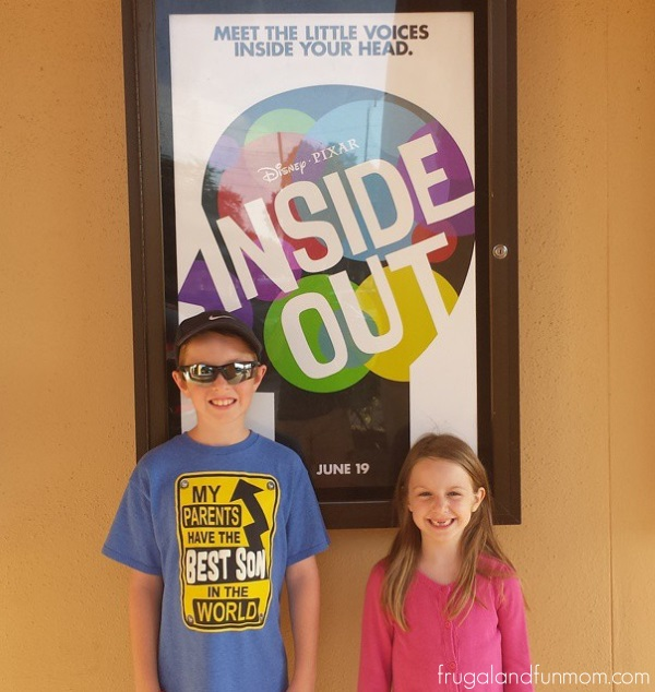 Review of Disney Pixar Inside Out from Kids