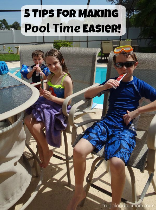 Tips for Pool Time