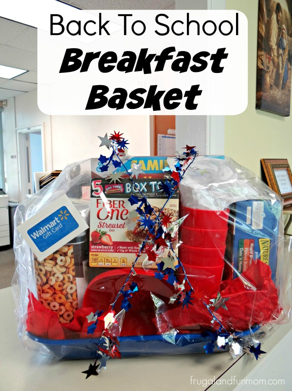 Back To School Breakfast Basket