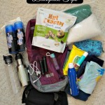 Backpack Tips For A Florida Theme Park! Here Are The Items We Bring! #FisherNutExactly