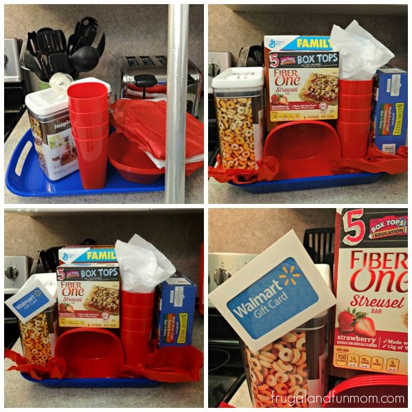 Box Tops for Education General Mills Breakfast Basket