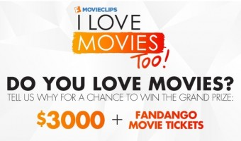 Tell Fandango Why You Love Movies for a Chance to WIN $3,000 + Movie Tickets! #ILoveMoviesContest
