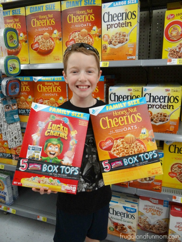 General Mills and Bonus Box Tops for Education at Walmart