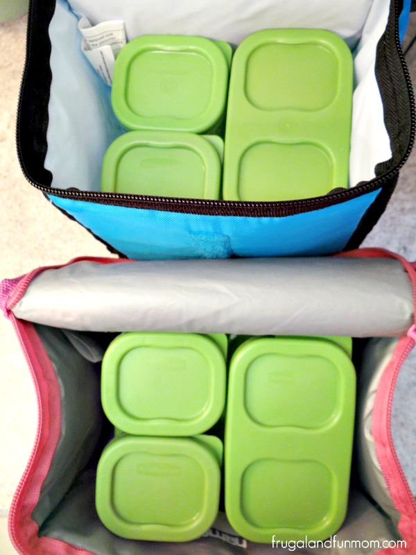 Lunch Bags with LunchBlox Kits by Rubbermaid