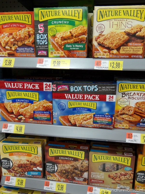 Nature Valley With Bonus Box Tops for Education at Walmart