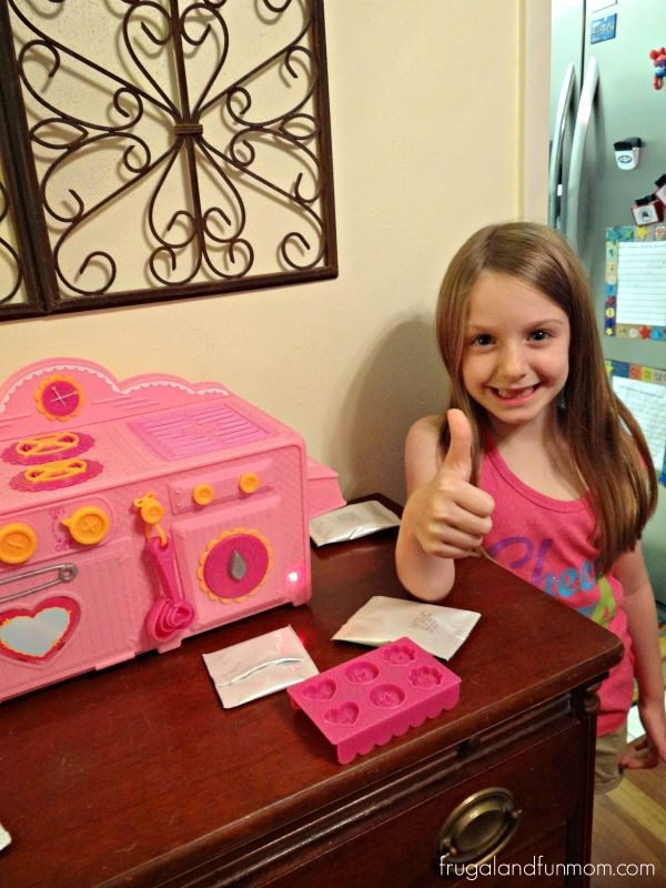 She loves the Lalaloopsy Baking Oven